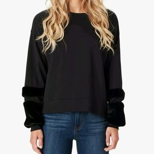 Jessica Simpson Juniors' Molly Faux sweater size M